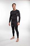 Мужское термобелье с шерстью альпаки 90261 Hanna Style S/M  Черный, фото 2