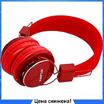 Беспроводные Bluetooth наушники Atlanfa AT-7611A c MP3 плеером, FM радио приемником и микрофоном, фото 2
