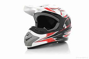 Шлем кроссовый  FOX  (#125, MZ2, XL, White)