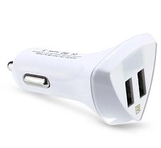 Автомобильное зарядное устройство с LCD Remax Aliens RCC-208 2*USB Белое, фото 2