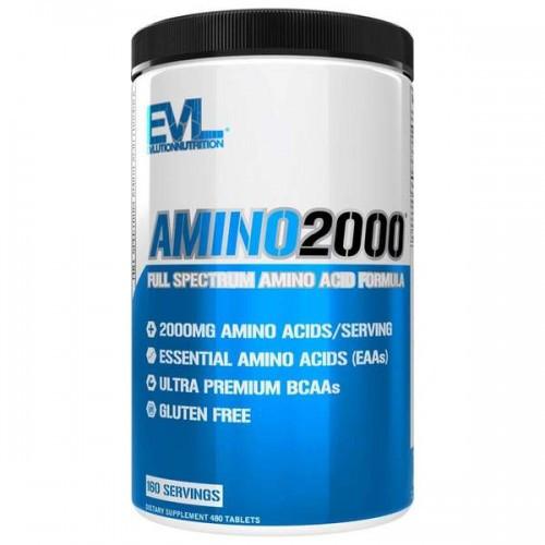 Амінокислоти Evlution Nutrition AMINO 2000 480tabs