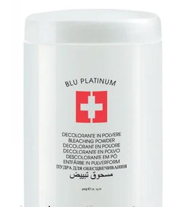 Пудра для обесцвечивания волос Голубая - Lovien Blue Platinum Bleaching Powder 400 гр