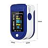 Пульсоксиметр на Палец Pulse Oximeter Lk 88 с Поворотным Дисплеем для Измерения Кислорода в Крови и Пульса, фото 4