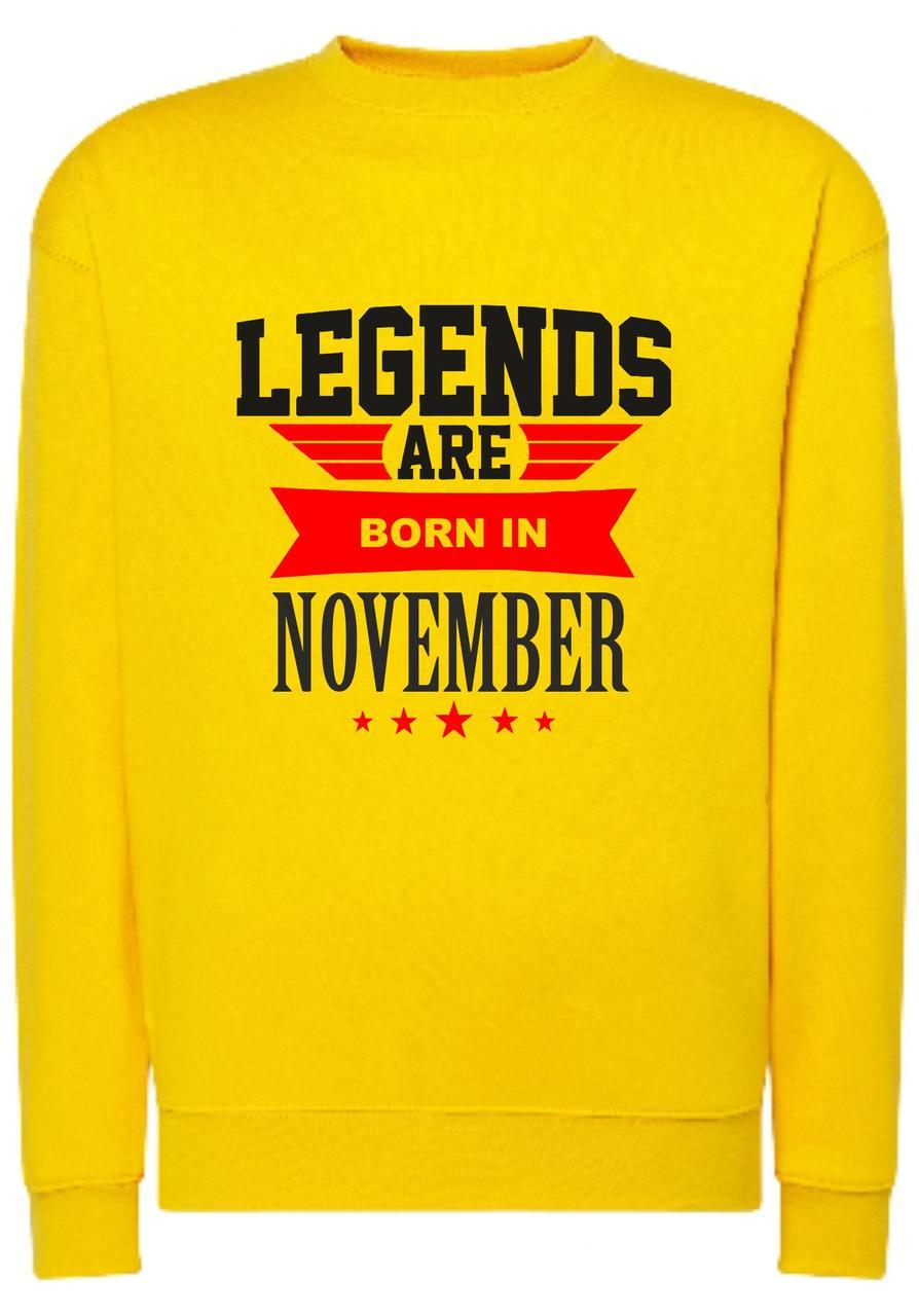 Реглан унісекс Was born in November y