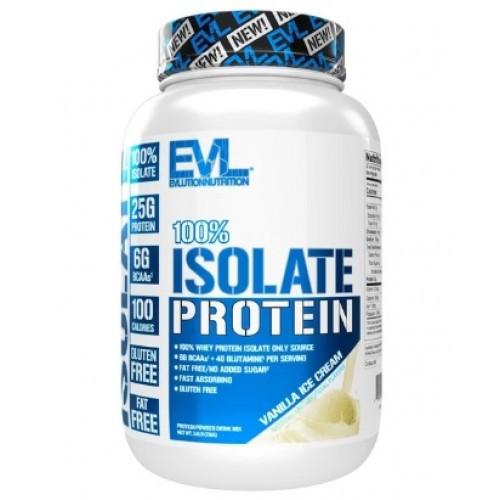 Протеин изолят Evlution Nutrition 100% ISOLATE  730g