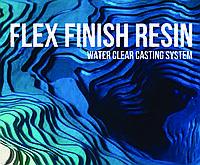 Финишная высокоглянцевая смола с защитой от царапин  уп. 400 мл. Термозащитные свойства.FlexFinish Resin