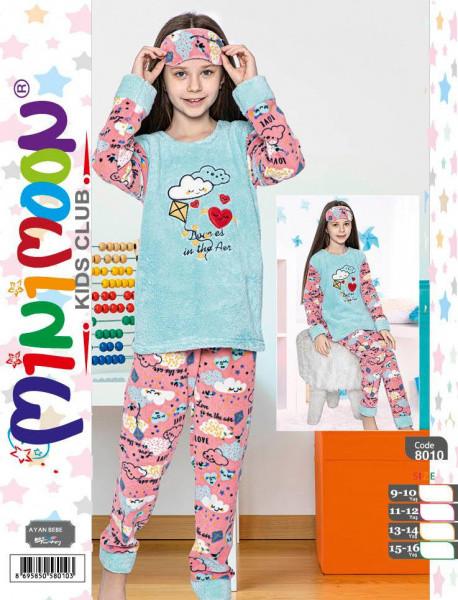 Пижама детская теплая для девочки MINIMOON 8010 9-10, 15-16 лет