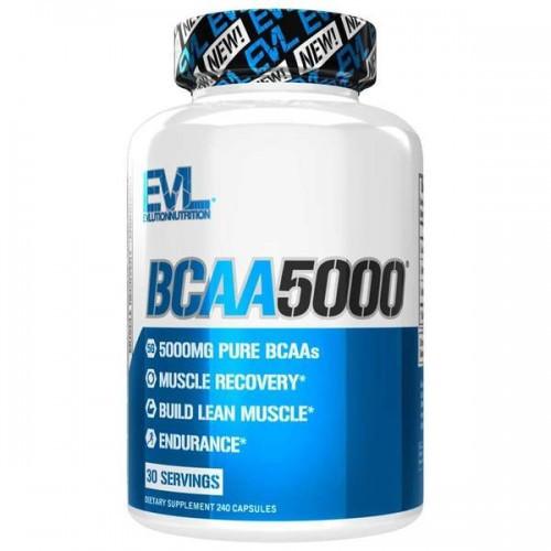 Аминокислоты Evlution Nutrition BCAA 5000 240caps