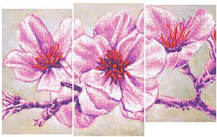 Цветущая ветка. Схема для вышивки бисером СвитАрт