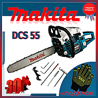 Бензопила Makita DCS 55 шина 45 см, 3.6 кВт Цепная пила Макита DCS 55