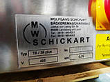 Хлеборезка  Schickard TS/38 plus  настольная, с регулируемым размером ломтя 5-25мм б/у Германия, фото 6