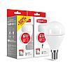 Набір LED ламп MAXUS G45 6W тепле світло E14 (2-LED-543)
