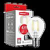LED лампа MAXUS (filam), G45, 4W, яскраве світло,E14 (1-LED-548)