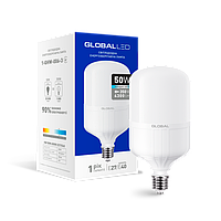 LED лампа (высокомощная) GLOBAL 50W 6500K E27/E40 холодный свет(1-GHW-006-3)