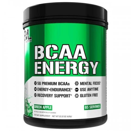 Амінокислоти Evlution Nutrition ENERGY BCAA 630g