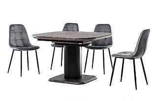 Стол обеденный раскладной МДФ ТМL-570 Vetro Mebel™
