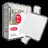 Світильник врізний MAXUS SP edge 9W, 4100К (квадрат)