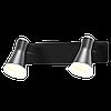 Спотовий світильник MAXUS MSL-02W 2x4W 4100K чорний