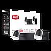 Спотовий світильник MAXUS MSL-01W 2x4W 4100K чорний