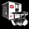 Спотовий світильник MAXUS MSL-01R 3x4W 4100K чорний