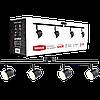 Спотовий світильник MAXUS MSL-01C 4x4W 4100K чорний