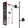 Спотовий світильник MAXUS MSL-01F 2x4W 4100K чорний