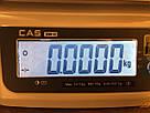 Весы фасовочные CAS SW-II-6D (6 кг, 1/2 г) два дисплея, фото 4