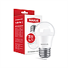 Лампа светодиодная MAXUS 1-LED-746 G45 7W 4100K 220V E27