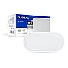 Антивандальный LED-светильник GLOBAL GBH 02 12W 5000K (эллипс)