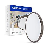 Светильник светодиодный с пультом GLOBAL Functional Light 72W 3000-6500K 02-C, фото 1