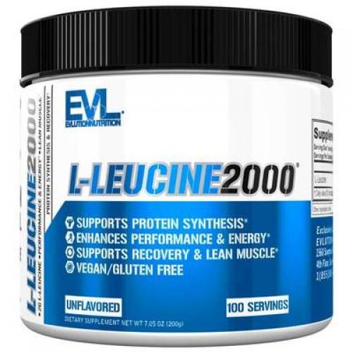 Лейцин Evlution Nutrition L-Leucine 200g БЕЗ СМАКУ