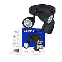 Светильник светодиодный GSL-01C GLOBAL 12W 4100K черный