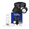 Светильник светодиодный GSL-02C GLOBAL 12W 4100K черный