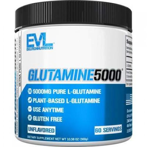 Глютамін Evlution Nutrition L-Glutamine 5000 300g БЕЗ СМАКУ
