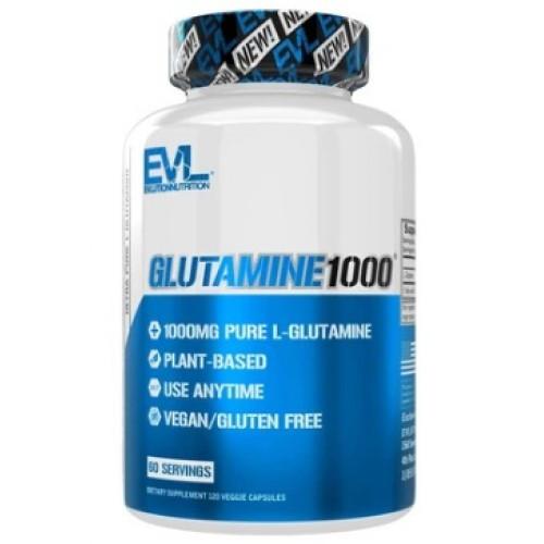 Глютамин Evlution Nutrition L-Glutamine 1000 120caps.
