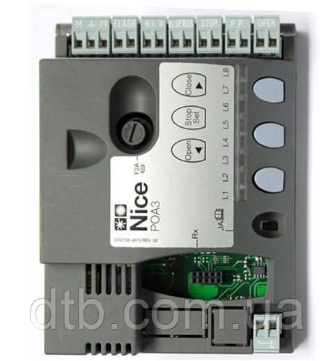 Блок керування плата POA3 для Nice Hopp приводу розпашних воріт
