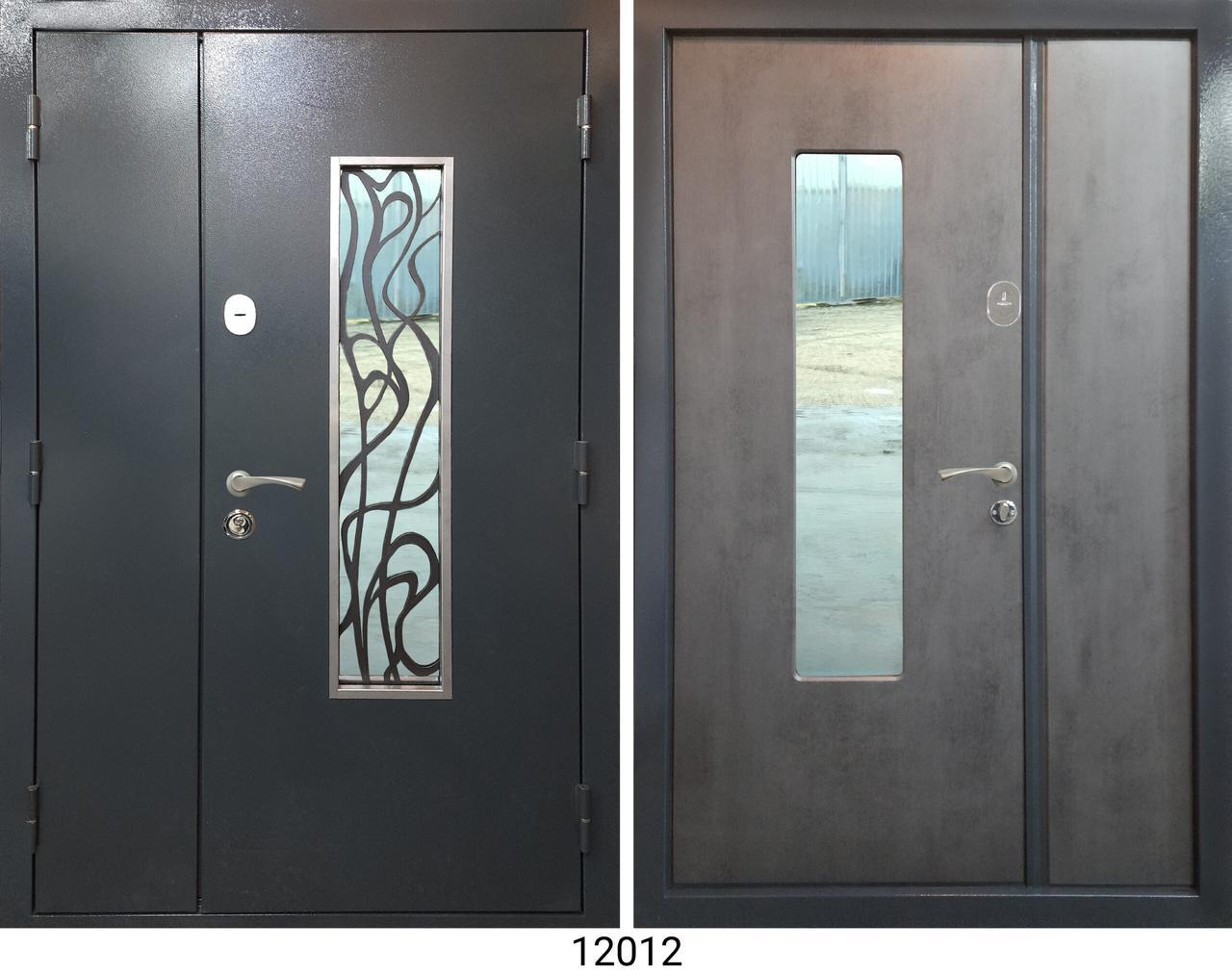 Двері 1,2*2,05 метал / мдф накладка
