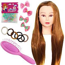 Голова для моделювання зачісок з набором для плетіння