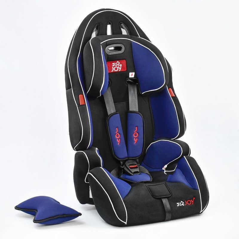 Автокресло универсальное G 2010 (2) Цвет чёрно-синий 9-36 кг, с бустером, Joy