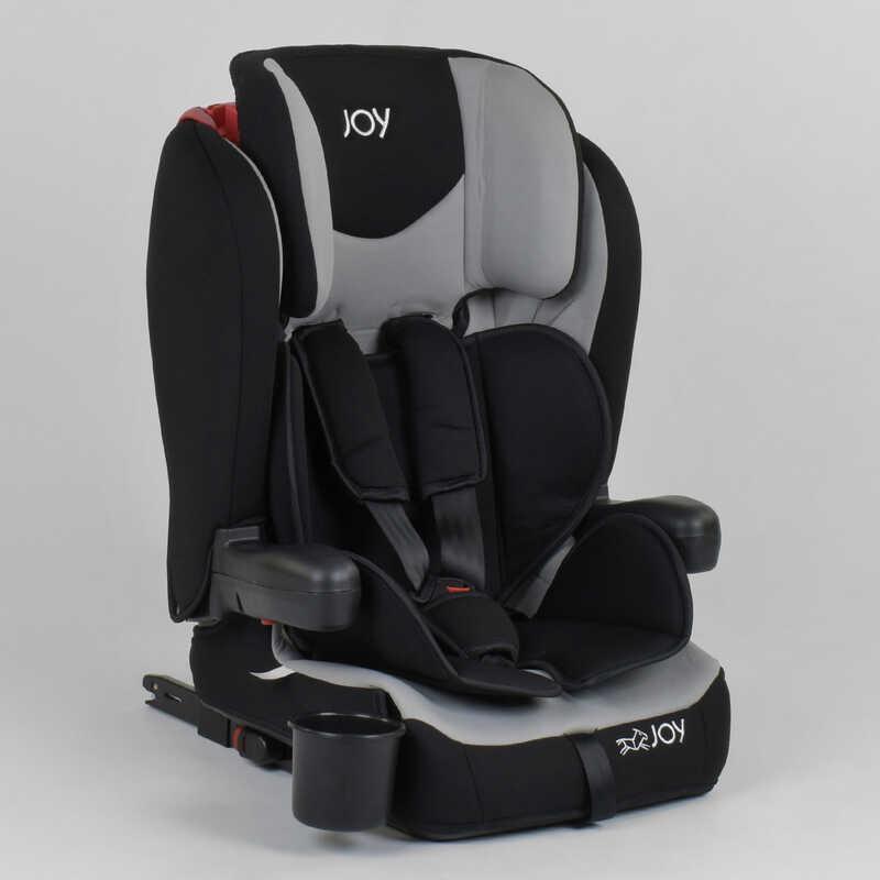 Детское автокресло JOY 38148 (1) система ISOFIX, универсальное, группа 1/2/3, вес ребенка от 9-36 кг