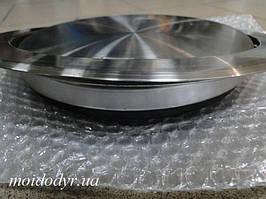 Кришка- люк з нержавіючої сталі для сміття, врізна в стільницю 250 мм