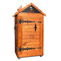 Деревянная коптильня холодного и горячего копчения, вяления и сушки Drevos Биг  2.0 (до 70 кг), фото 1
