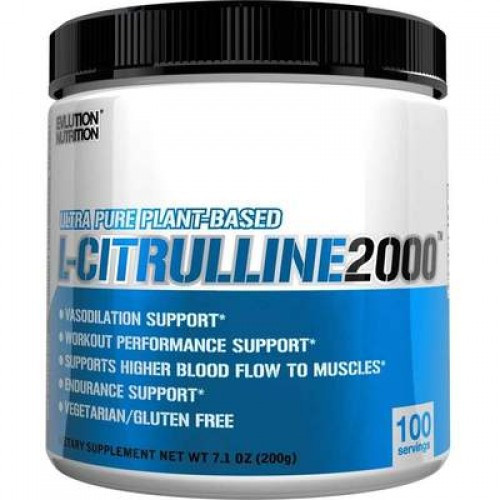 Цитрулин Evlution Nutrition L-Citruline 200g БЕЗ СМАКУ