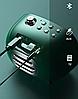 Акустика REMAX Jack Desktop Wireless Speaker with LED Display Alarm RB-M52 pink, фото 2