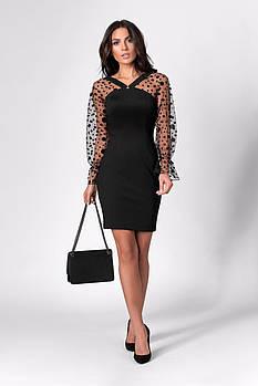/ Размер 42,44,46 / Женское нарядное платье мини 1283.1