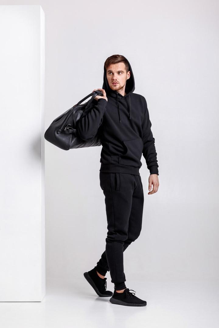 Спортивный костюм мужской Good Idea XL Черный (MD00402)