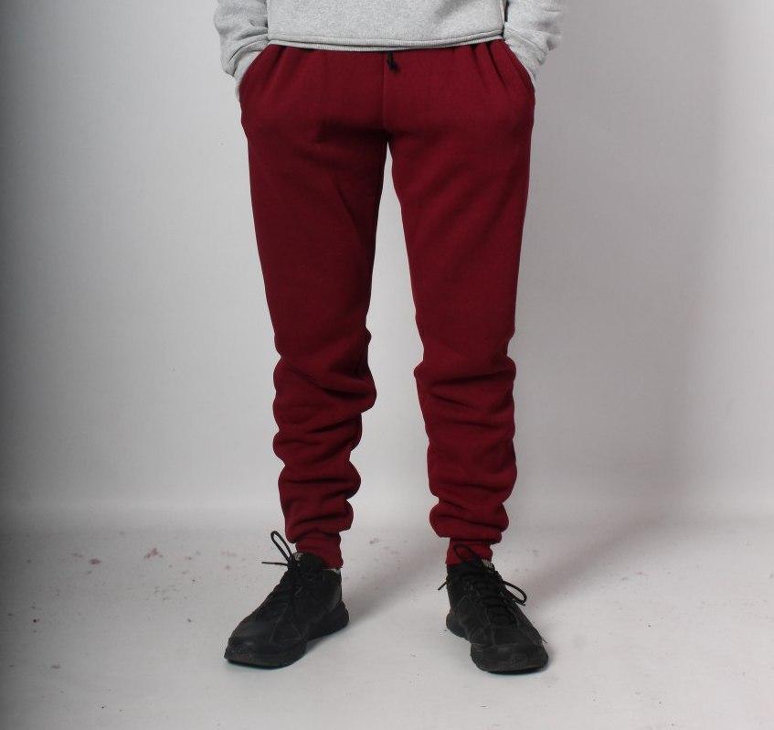 Штаны для мужчин Good Idea XXL Бордовые (MD00496)