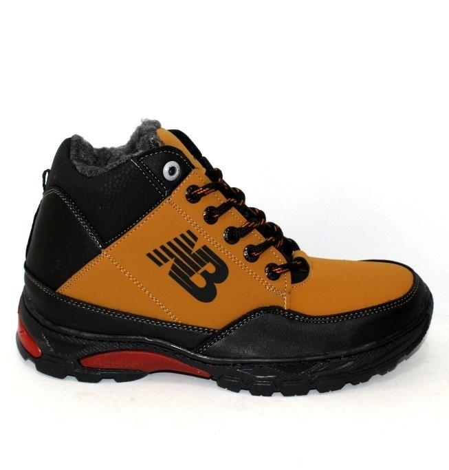 Рыжие зимние мужские ботинки