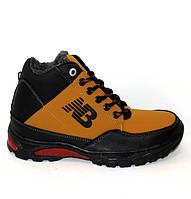 Рыжие зимние мужские ботинки, фото 1