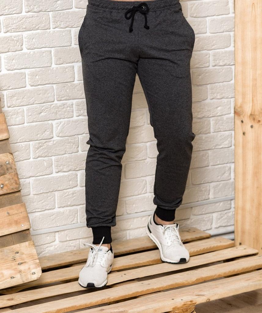 Спортивные брюки мужские Good Idea L Темно-серые (MD00139)
